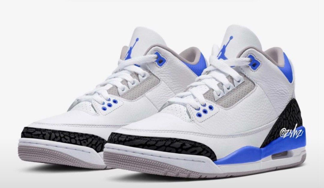 "Air Jordan 3 ""Racer Blue"""