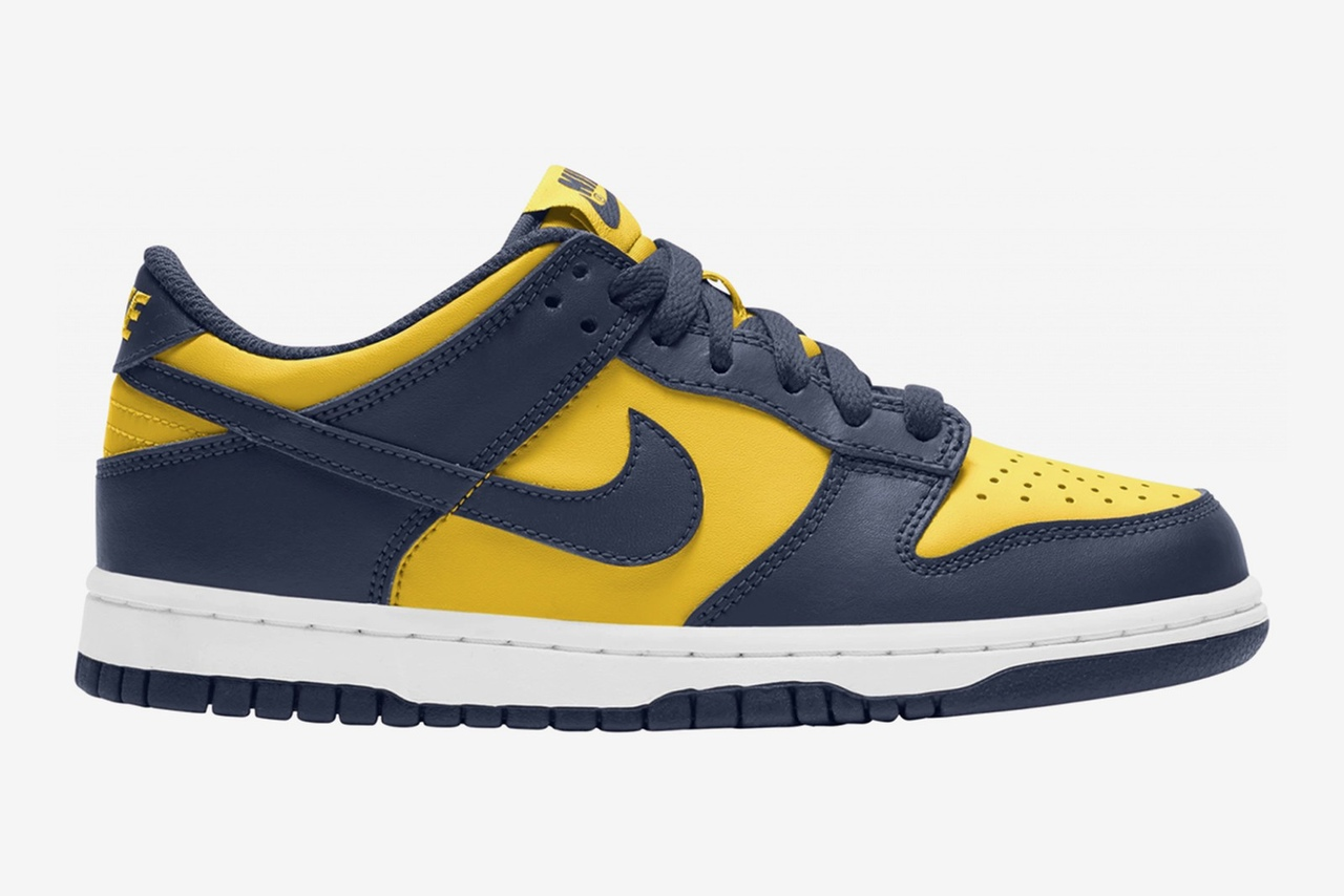 "Nike Dunk Low ""Michigan"""